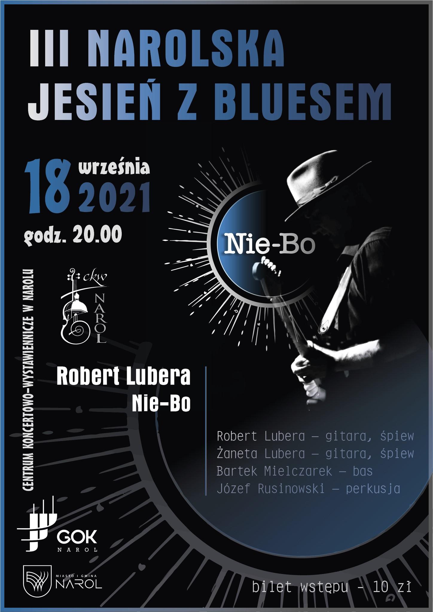 Koncert zepołu  Robert Lubera Nie-Bo